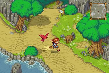 Adventure RPG :GAME MOCKUP: by TimJonsson