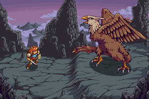 Mountain Battle RPG :MOCK UP: by TimJonsson