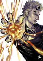 burning soul by AbsolumTerror