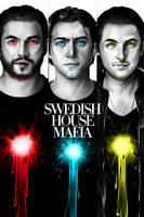 Swedish House Mafia Wall by AbsolumTerror