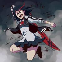 Kill La Kill by RikawawaArt