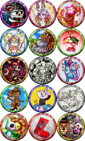 DeviantArt Folder Icons by NadiaCoelho