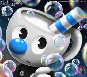 Bubble Mugman by NadiaCoelho