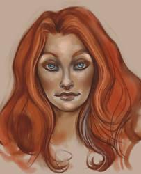Malia Portrait by CinnamonAlchemy