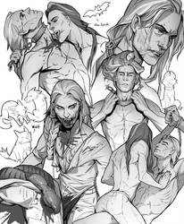 Mythbook: Sketches by SineAlas