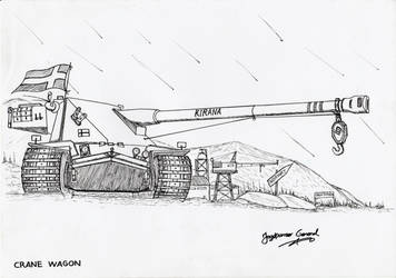 Heavy Tank Kranvagn by StubbornEmil