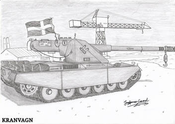 Heavy Tank Kranvagn (B) by StubbornEmil