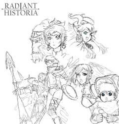 Radiant Historia MSPaint Version by Victoria10101