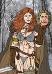 Red Sonja - The Last Night With You by leandro-sf