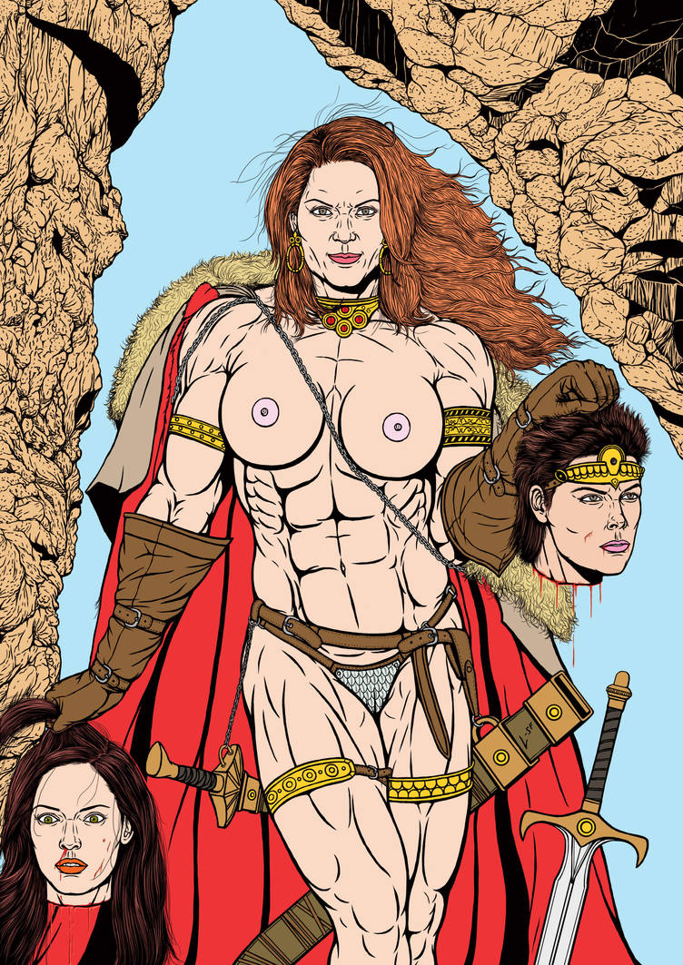 Red Sonja: Head to Head by leandro-sf