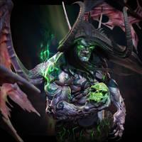 Illidan Stormrage TheBetrayer by lancewilkinson