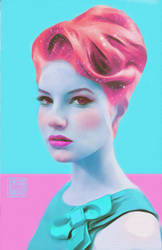 fashion portrait by ghettoandroid