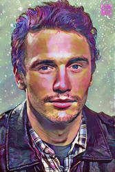 James Franco by ghettoandroid