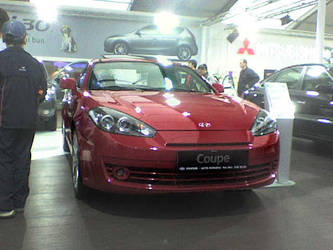 SIAB 07 - Hyundai Coupe Front by AxelSilverwolf