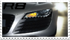 Audi R8 Stamp by AxelSilverwolf