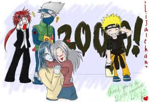 + FF7.Naruto - 2000 kiri TY + by Lijachan