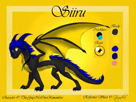 CM - Siiru Reference Sheet by Gryndra