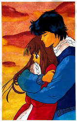 ransie and shun color by Ransie