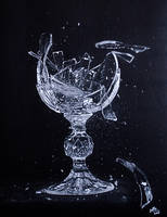 Broken glass by sathewins