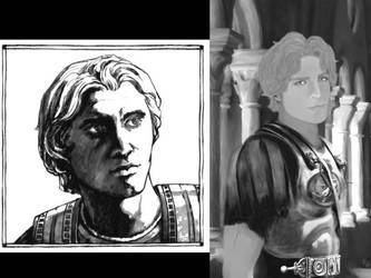 Alexander the Great and Hephaestion by AlexanderAeternus