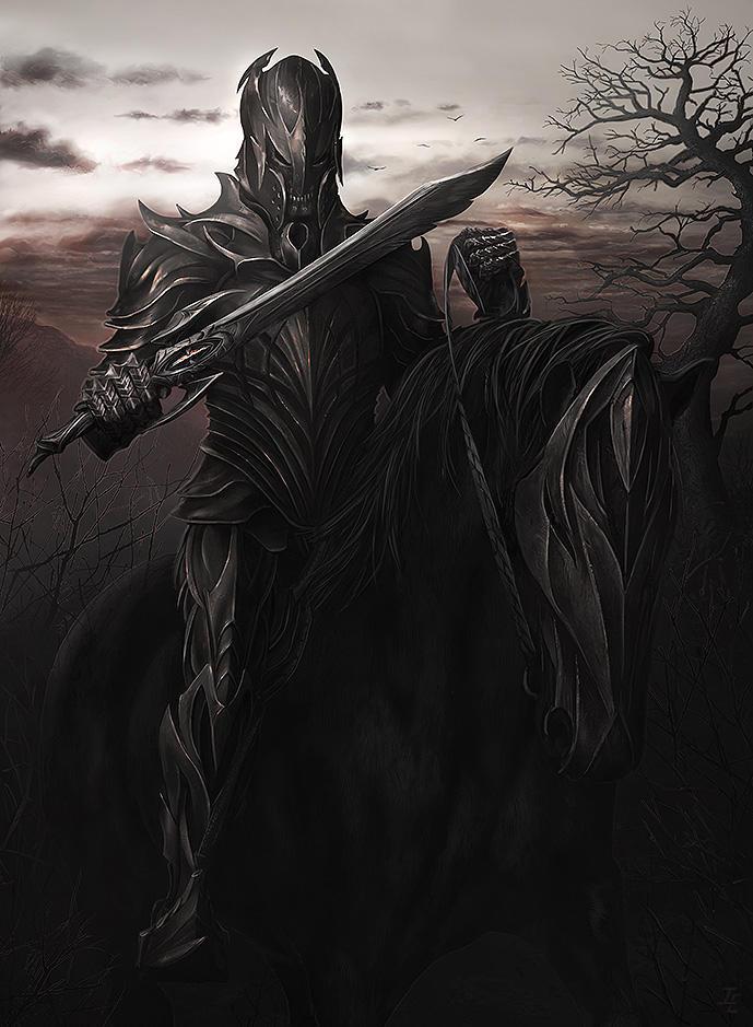 Death Knight by ianessom