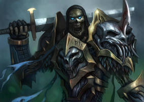 Undead Warrior by caiomm