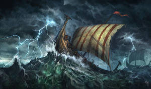 Vikingship by caiomm