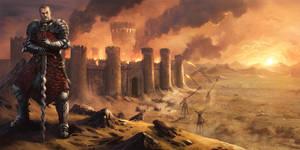 Medieval Fair - The Dark Knight by caiomm
