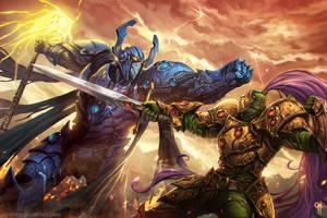 Tormenta RPG Paladino X Arsenal by caiomm