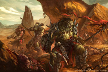 Blood Plains by caiomm