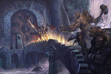 Defending the Bridge by caiomm