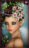 Cute Flower Elf by Ikke46