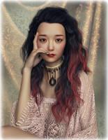 Portrait of Lin Mei by Ikke46