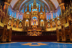 Notre Dame de Montreal I by chirilas