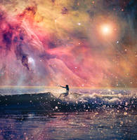 Surfing the Orion Nebula by 4dam