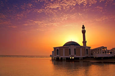Sunset by raeid