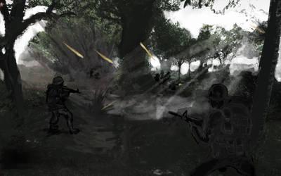 A day in 'Nam by Gun345