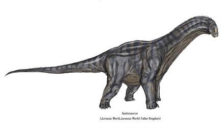 Jurassic Park Realistic- Apatosaurus by Gun345