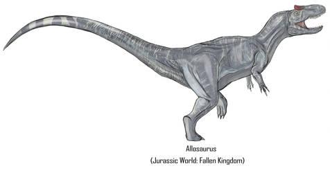 Jurassic Park Realistic- Allosaurus by Gun345