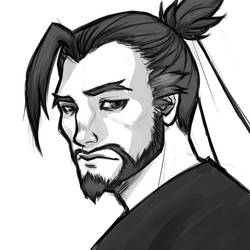 Overwatch: Hanzo by nranola