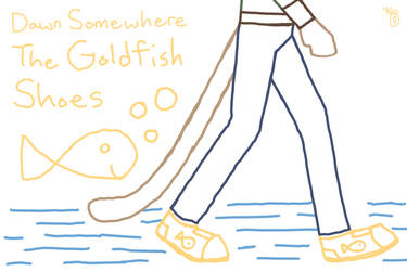 Dawn Somewhere - Song: The Goldfish Shoes sketch by Galefeather