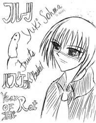 Yuki Sohma Fan Art by t0kibboy