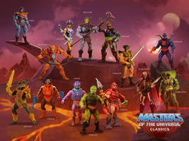Masters of the Universe Poster 4 by clementmeriguet