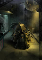Gotham Street by clementmeriguet