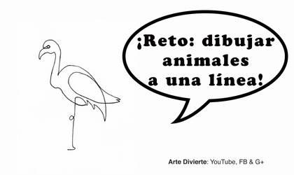 Reto: Dibujando animales con una sola linea! by LeonardoPereznieto