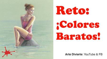 Reto: Dibujar con lapices de colores baratos by LeonardoPereznieto