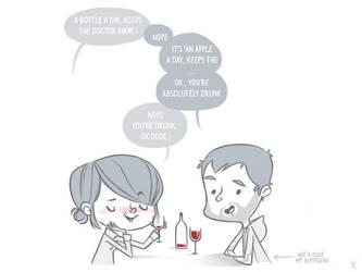 Enjoy wine ! by tshipbd
