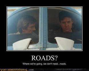 A-Team Roads... by GhostHuntress