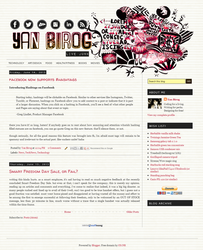 Blog Layout by melodia04