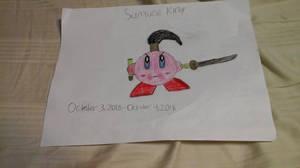 My drawing of Samurai Kirby by quincyjazimar13